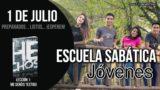 Escuela Sabática Jóvenes | Domingo 1 de julio del 2018 | Preparados… listos… ¡esperen!