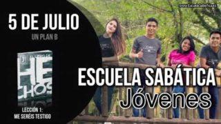 Escuela Sabática Jóvenes   Jueves 5 de julio del 2018   Un plan B Lecciones de Escuela Sabática para Jóvenes