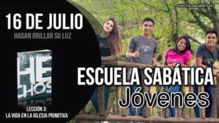 Escuela Sabática Jóvenes   Lunes 16 de julio del 2018   Hagan brillar su luz