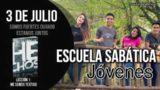 Escuela Sabática Jóvenes | Martes 3 de julio del 2018 | Somos fuertes cuando estamos juntos