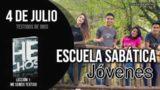 Escuela Sabática Jóvenes | Miércoles 4 de julio del 2018 | Testigos de Dios