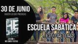 Escuela Sabática Jóvenes | Sábado 30 de junio del 2018 | Hacer lo que predicas