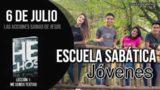 Escuela Sabática Jóvenes | Viernes 6 de julio del 2018 | Las acciones sabias de Jesús