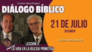 Resumen | Diálogo Bíblico | Lección 3 | La vida en la iglesia primitiva | Escuela Sabática