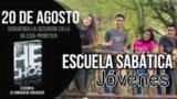 Escuela Sabática Jóvenes | Lunes 20 de agosto del 2018 | Venciendo la desunión en la iglesia