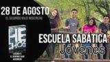 Escuela Sabática Jóvenes | Martes 28 de agosto del 2018 | El segundo viaje misionero