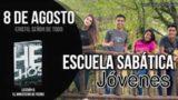 Escuela Sabática Jóvenes | Miércoles 8 de agosto del 2018 | Cristo, Señor de todo