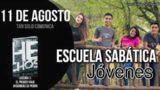 Escuela Sabática Jóvenes | Sábado 11 de agosto del 2018 | Tan solo comunica