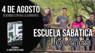 Escuela Sabática Jóvenes | Sábado 4 de agosto del 2018 | Seguimos contra la corriente