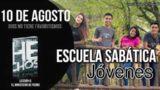 Escuela Sabática Jóvenes | Viernes 10 de agosto del 2018 | Dios no tiene favoritismos