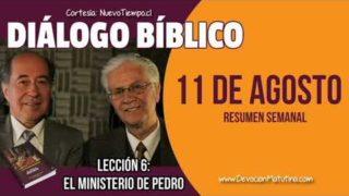Resumen | Diálogo Bíblico | Lección 6 | El ministerio de Pedro | Escuela Sabática