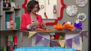 Banderitas para fiestas | Rincón de Arte | Nuevo Tiempo