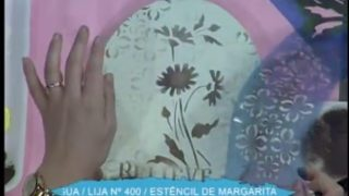 Caja oval con esténcil | Rincón de Arte | Nuevo Tiempo