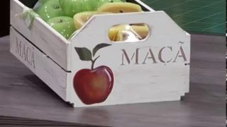 Cajón de manzanas decorativo | parte 2 | Rincón de Arte | Nuevo Tiempo