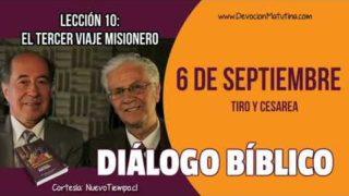 Diálogo Bíblico | Jueves 6 de septiembre 2018 | Tiro y cesarea | Escuela Sabática