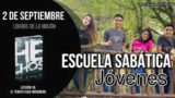 Escuela Sabática Jóvenes | Domingo 2 de septiembre 2018 | Logros de la misión