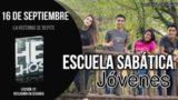 Escuela Sabática Jóvenes | Domingo 16 de septiembre 2018 | La historia se repite
