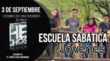 Escuela Sabática Jóvenes | Lunes 3 de septiembre 2018 | Lecciones del viaje misionero de Pablo