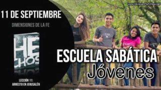Escuela Sabática Jóvenes   Martes 11 de septiembre 2018   Dimensiones de la fe