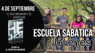 Escuela Sabática Jóvenes | Martes 4 de septiembre 2018 | El viaje misionero y su significado