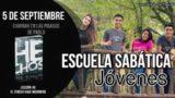 Escuela Sabática Jóvenes | Miércoles 5 de septiembre 2018 | Caminar en las pisadas de Pablo