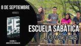Escuela Sabática Jóvenes | Sábado 8 de septiembre 2018 | Héroes