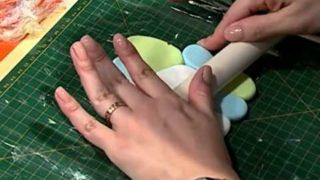 Llave de luz decorada con porcelana rusa | Rincón de Arte | Nuevo Tiempo