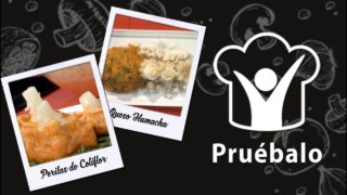 Peritas de coliflor – Queso humacha   Pruébalo