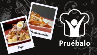 Pique – Ensalada de garbanzo con tofu – Falafel   Pruébalo