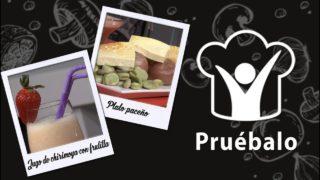 Plato paceño – Jugo de chirimoya con frutilla   Pruébalo