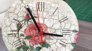 Reloj de pared con decoupage | parte 2 | Rincón de Arte | Nuevo Tiempo