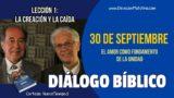 Diálogo Bíblico | Domingo 30 de septiembre 2018 | El amor como fundamento | Escuela Sabática
