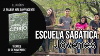 Lección 9 | Viernes 30 de noviembre 2018 | El amor nos une | Escuela Sabática Joven