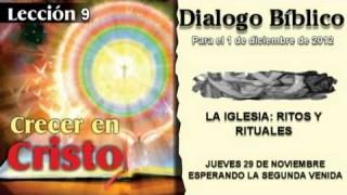 JUEVES 29/11/2012 – LECCIÓN 9 – ESPERANDO LA SEGUNDA VENIDA