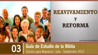 Sábado 13/07/2013 – Lección 3 – Para memorizar