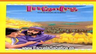 Lección 13 | Infantes | Rodeado de ángeles | Escuela Sabática Menores