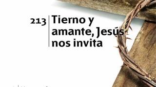 Himno 213 | Tierno y amante, Jesús nos invita | Himnario Adventista