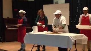 Taller de cocina: Receta pan de Ezequiel | Ruth Parra | Seminario sobre alimentación y regeneración del ADN | 12/04/2015