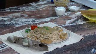 Spagetti con salsa de hongos | Nuevo Estilo de Vida