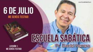 Escuela Sabática   6 de julio del 2018   Me seréis testigo   Pr. Daniel Herrera