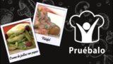 Crema de judías con papas selladas – Falafel | Pruébalo