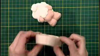 Cuadrito con porcelana fría | parte 2 | Rincón de Arte | Nuevo Tiempo