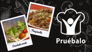 Ensalada verde – Panzanella con espárragos | Pruébalo