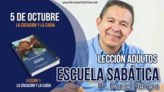 Escuela Sabática   5 de octubre 2018   La Creación y la Caída   Pr. Daniel Herrera