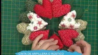 Guirnalda Navideña de corazones | Rincón de Arte | Nuevo Tiempo