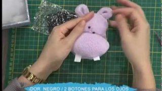 Hipopótamo de peluche | Rincón de Arte | Nuevo Tiempo
