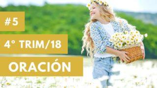 La oración – Cuna a Intermediarios | Ministerio del niño | Cuarto trimestre 2018
