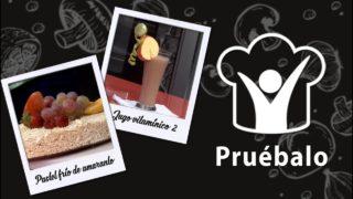Pastel frío de amaranto – Jugo vitamínico 2 | Pruébalo
