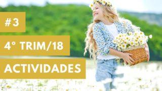 Preparación, Cumpleaños, Visitas e Incentivos | Ministerio del niño | Cuarto trimestre 2018