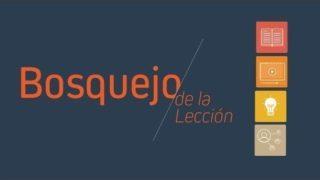 Bosquejo | Lección 6 | Imágenes de la unidad | Escuela Sabática Pr. Edison Choque